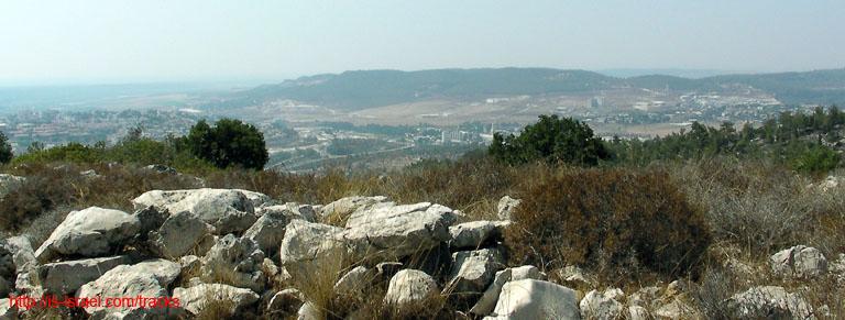 Вид на заповедник Нахаль Долев
