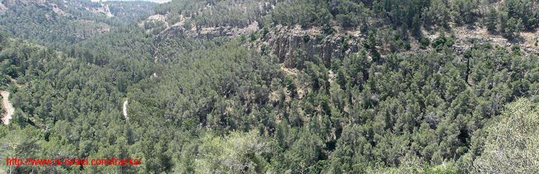 Вид на заповедник Иудейские Горы