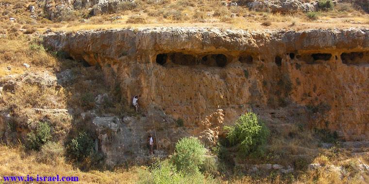 Пещеры заповедника Нахаль Халилим