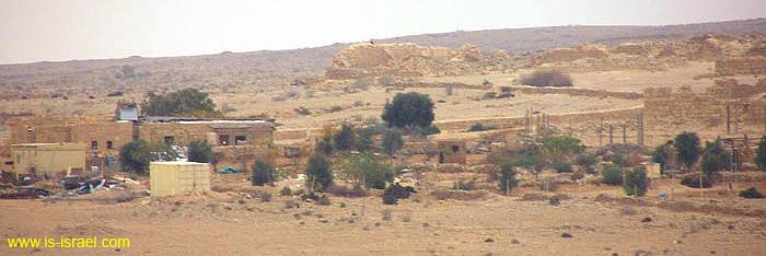 Развалины древнего города Шивта