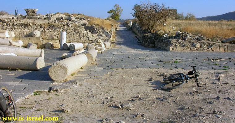 Развалины древнего города Сусита